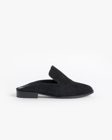 Alicel Slip On in Black Suede by Robert Clergerie at Mohawk General Store - 1