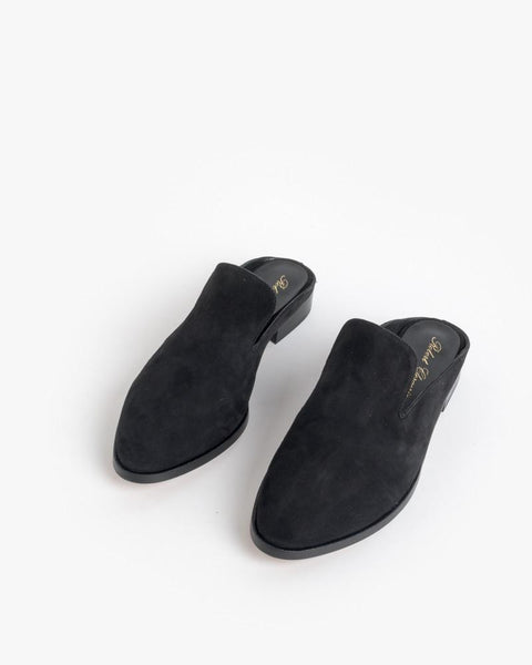 Alicel Slip On in Black Suede by Robert Clergerie at Mohawk General Store - 2