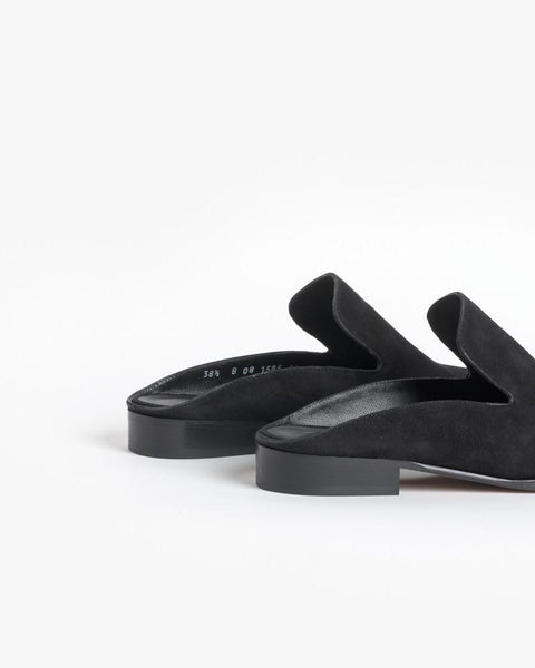 Alicel Slip On in Black Suede by Robert Clergerie at Mohawk General Store - 3