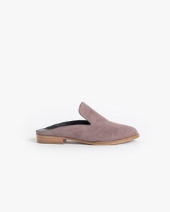 Alicel Slip On in Sandalwood Suede by Robert Clergerie at Mohawk General Store - 1