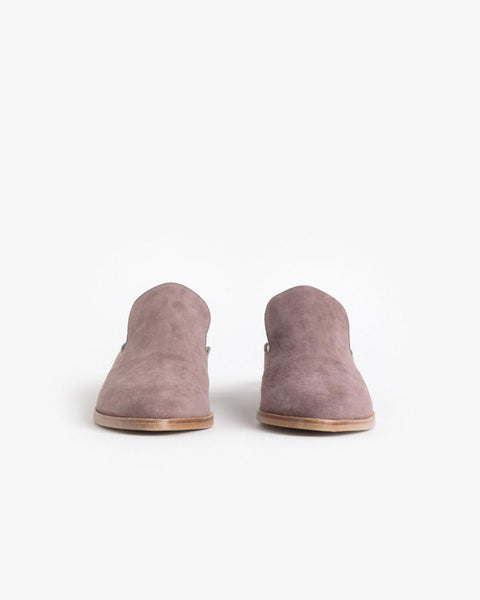 Alicel Slip On in Sandalwood Suede by Robert Clergerie at Mohawk General Store - 3