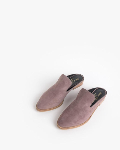Alicel Slip On in Sandalwood Suede by Robert Clergerie at Mohawk General Store - 2