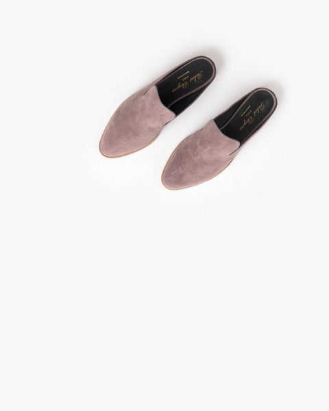 Alicel Slip On in Sandalwood Suede by Robert Clergerie at Mohawk General Store - 4