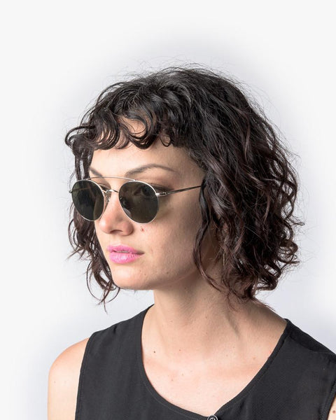 Bastille Sunglasses in White Gold by Ahlem at Mohawk General Store - 4
