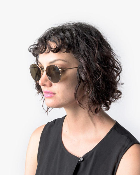 Madeline Sunglasses in Champagne Windsor by Ahlem at Mohawk General Store - 5