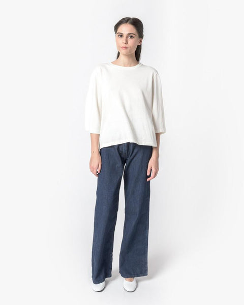 Wide Sleeve Top in Natural by SMOCK Woman at Mohawk General Store - 3