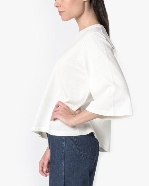 Wide Sleeve Top in Natural by SMOCK Woman at Mohawk General Store - 5