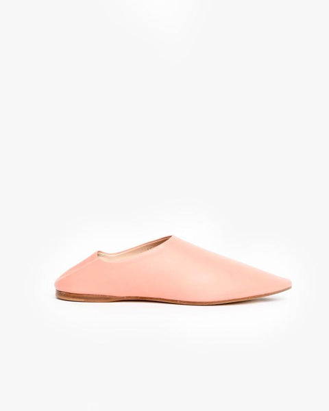 Amina Nappa Flat in Pink by Acne Studios Woman at Mohawk General Store
