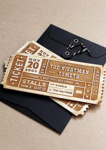 PERSONALISED TICKET - EVENT