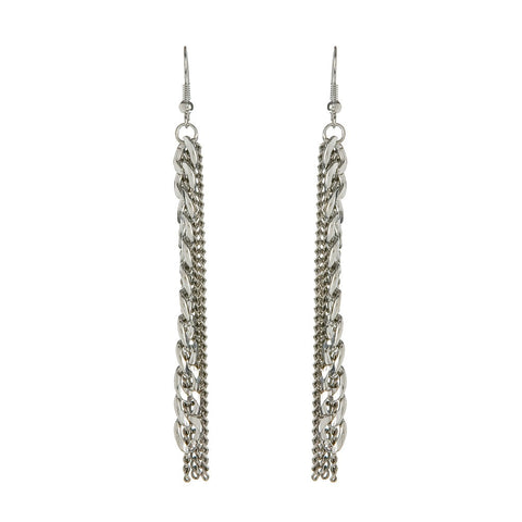 Chainy Earrings - Silver