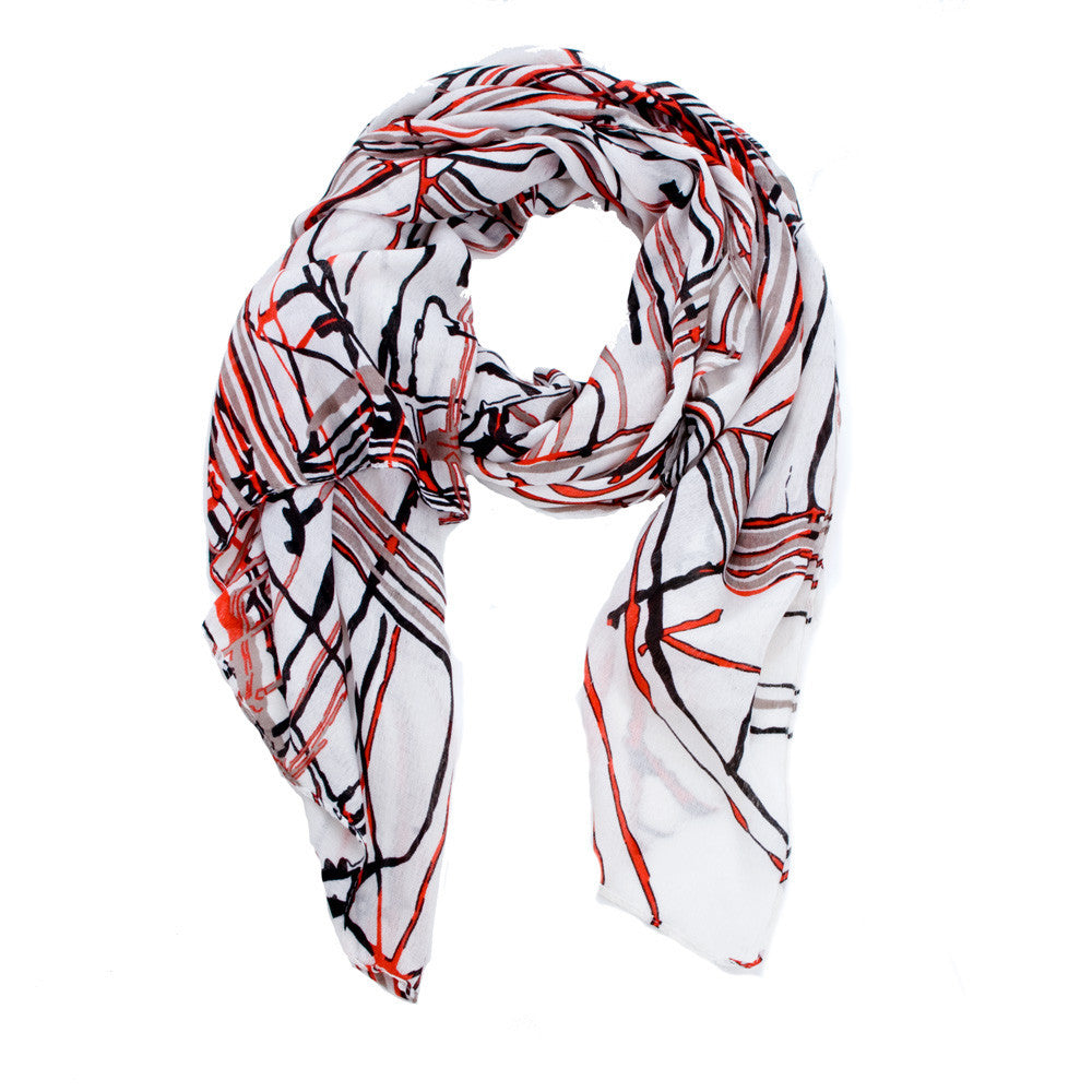 Brush Strokes Scarf