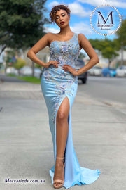 Satin Evening Dress | Jadore Dress JX4007