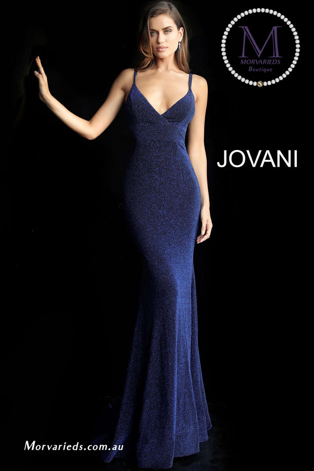 MORVARIEDS - Navy Fitted Bridesmaid Dress 66442
