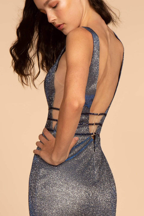 GL2588 Elizabeth K Long Open Back Formal Evening Dress - Morvarieds Fashion