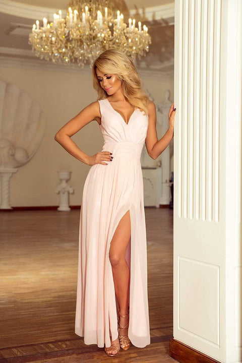 Maxi Chiffon Dress - Morvarieds Fashion