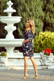 Sporty Floral Dress for Spacial Occasions - Morvarieds Fashion