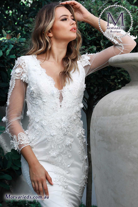 Wedding Dress | Jadore Bridal Dress W109 - Morvarieds Fashion