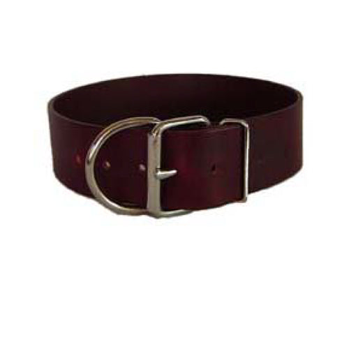 "TUFF STUFF 2"" LEATHER COLLAR"