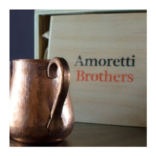 AMORETTI BROTHERS COPPER MUGS - SET OF 2