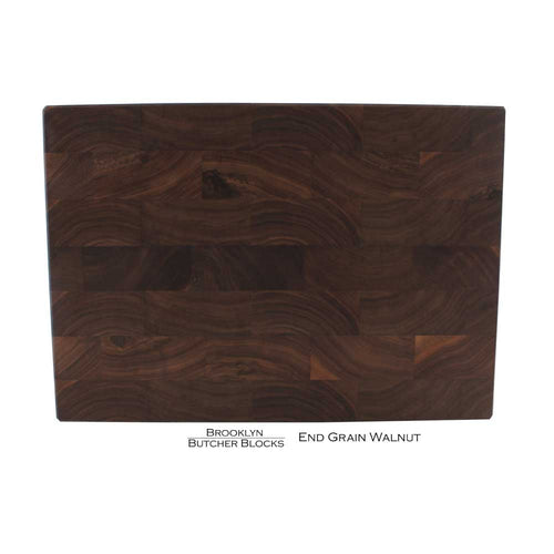 END GRAIN WALNUT BUTCHER BLOCK