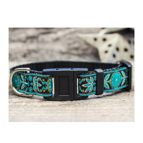 BOHO FLORAL BREAKAWAY CAT COLLAR