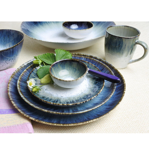 CARMEL CERAMICA CYPRESS GROVE SALAD PLATE - SET OF 4