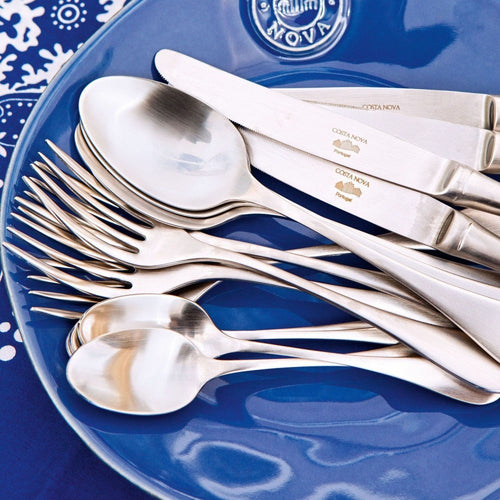 COSTA NOVA ANTIGO 20-PIECE STAINLESS STEEL FLATWARE SET