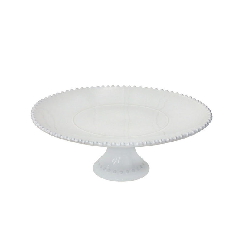 "COSTA NOVA PEARL 13"" FOOTED PLATE / CAKE STAND"