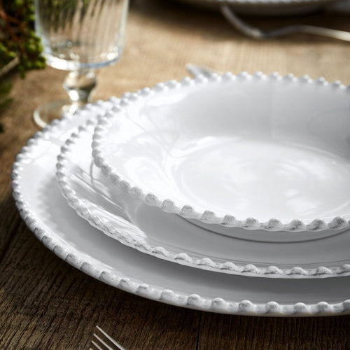 COSTA NOVA PEARL SOUP/PASTA PLATE- SET OF 6