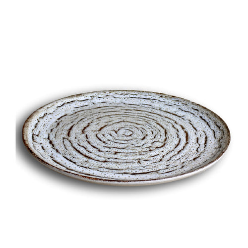 CARMEL CERAMICA TRUFFLE DINNER PLATE - SET OF 4