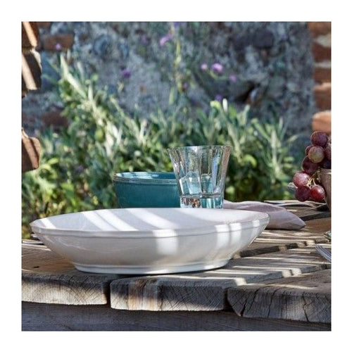 CASAFINA FONTANA WHITE PASTA/SERVING BOWL