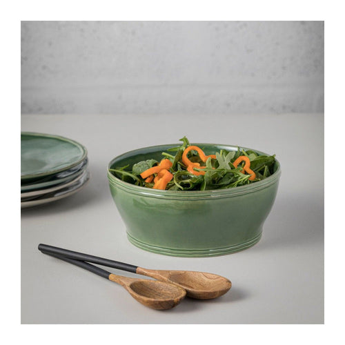 CASAFINA FONTANA FOREST GREEN SERVING BOWL