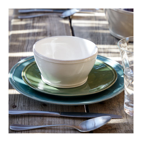 CASAFINA FONTANA WHITE CEREAL BOWLS - SET OF 6