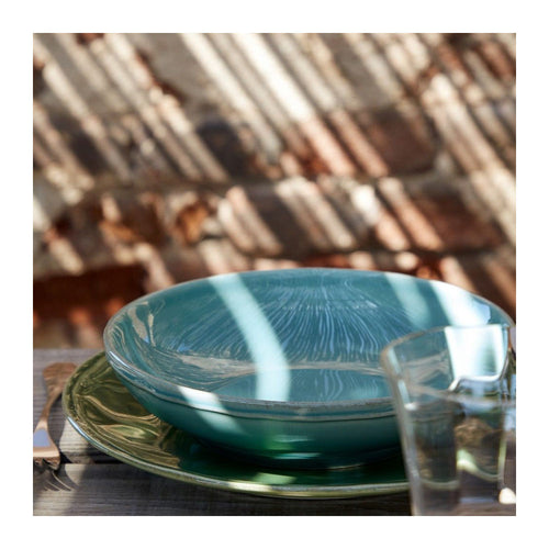 CASAFINA FONTANA TURQUOISE SOUP/PASTA BOWL - SET OF 6