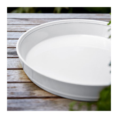 COSTA NOVA FRISO WHITE PIE DISH
