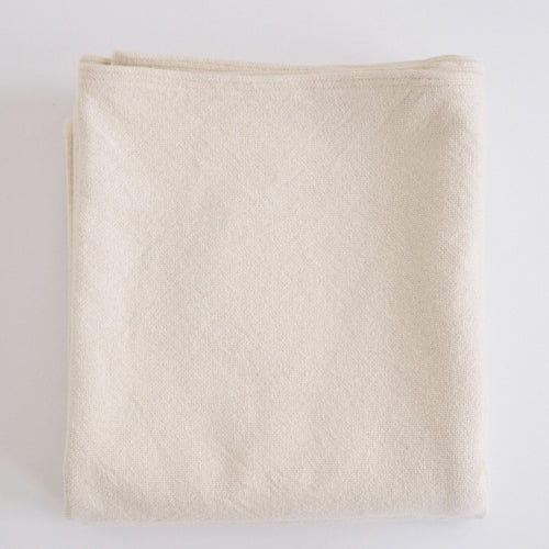 SIMPLE COTTON BLANKET - NATURAL