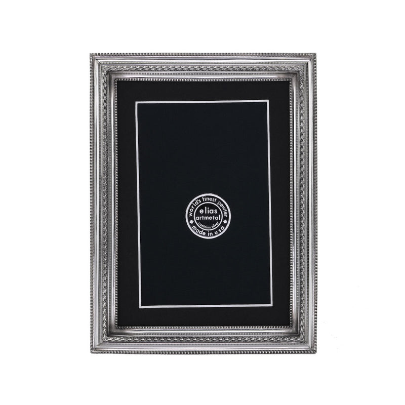 ELIAS ARTMETAL PINNACLE FINE PEWTER PICTURE FRAME - 5 X 7