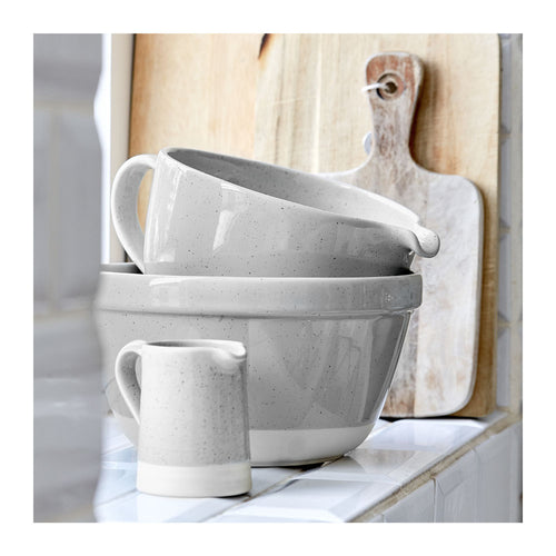 CASAFINA FATTORIA MIXING BOWLS - SET OF 3 - GREY