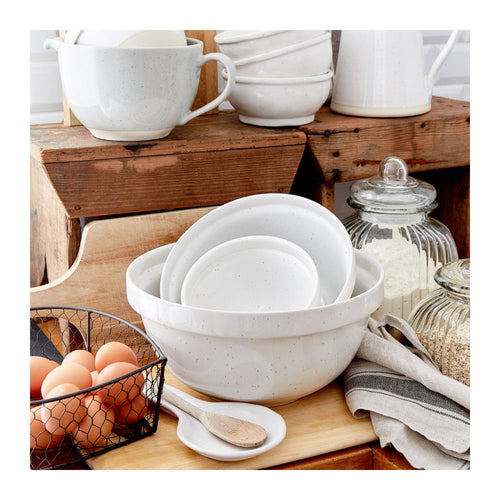 CASAFINA FATTORIA MIXING BOWLS - SET OF 3 - WHITE