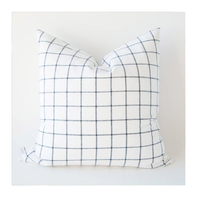 MODERN WINDOWPANE THROW PILLOW COVER – 20""