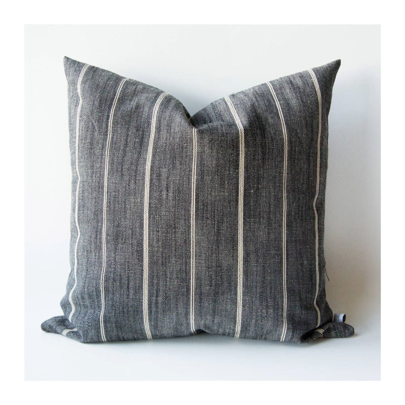 PEPPERCORN STRIPED PILLOW COVER – 18""