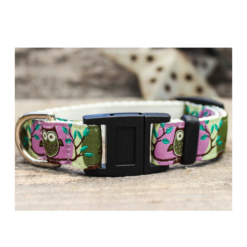 HOOT BREAKAWAY CAT COLLAR