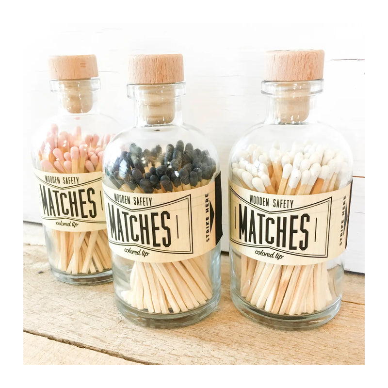 LIGHT PINK VINTAGE APOTHECARY MATCHES