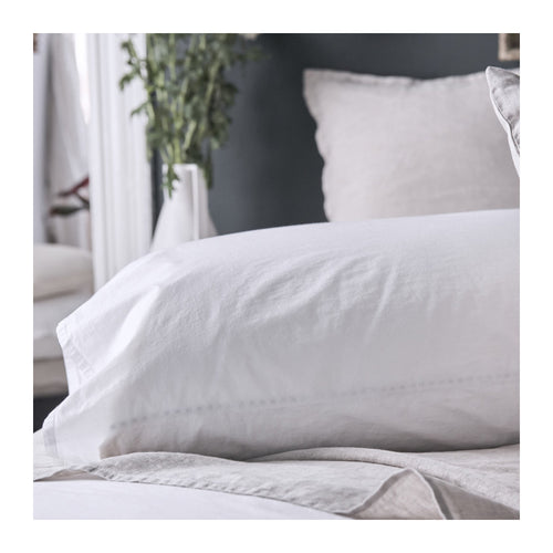 MATTEO LAWN COTTON PILLOWCASES - SET OF 2