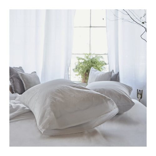 MATTEO TRU COTTON PILLOWCASES - SET OF 2