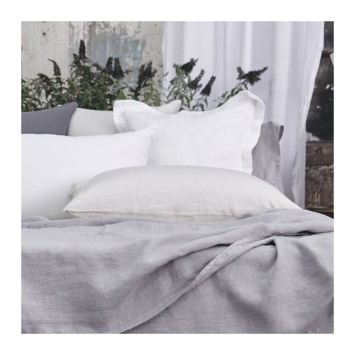 MATTEO VINTAGE LINEN SHAMS - SET OF 2