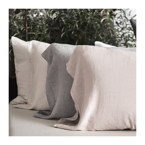 MATTEO VINTAGE LINEN PILLOWCASES - SET OF 2