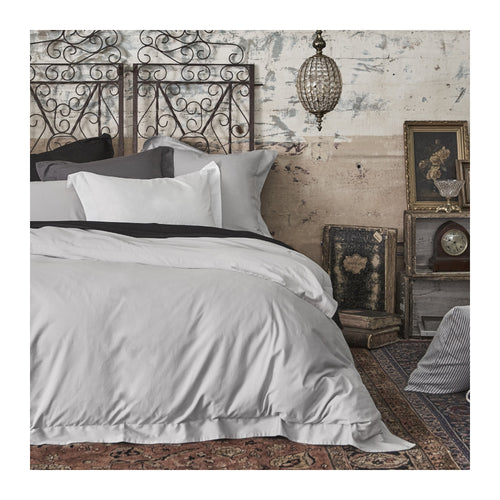 MATTEO WASHED SATEEN DUVET COVER