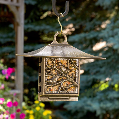NUTHATCH SUET FEEDER - FRENCH BRONZE