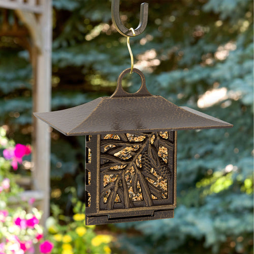 PINE CONE SUET FEEDER - FRENCH BRONZE
